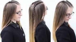 Easy Dutchbraids | Dutch braid Hairstyles | Braidsandstyles12