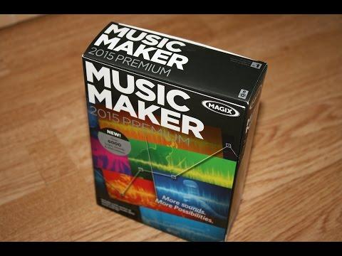 Magix Music Maker 2015 Premium Look Feel and Review