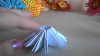 Тюльпан - модульное оригами
