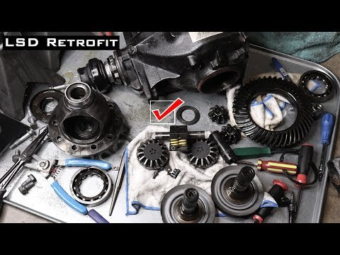 BMW E90 $250 Limited Slip Differential Install | Part 1