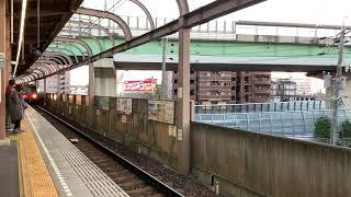 【残り少ない運用!】名鉄5300系SR車1693レ普通犬山行き 5305F5405号車 上小田井到着シーン