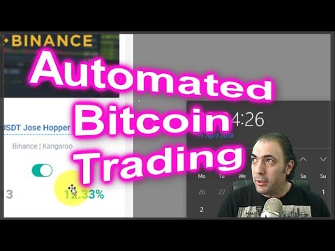 Software to automate trading bitcoin