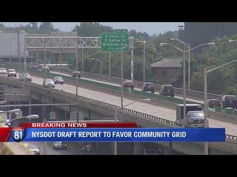 Tom & Becky - NYS Transportation Department Releases I-81 Verdict: Favors Community Grid!
