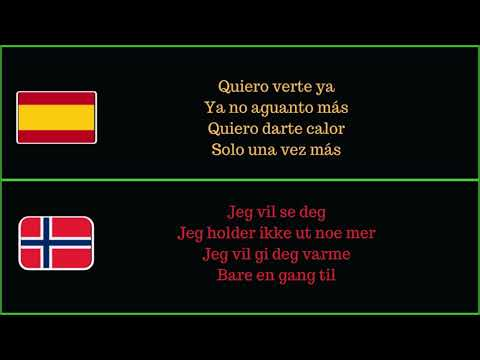 Enrique Iglesias - Súbeme la radio (Norsk oversettelse)