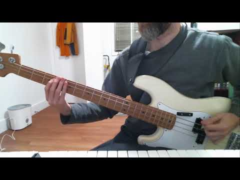 Metric - Wet Blanket (bass Cover)