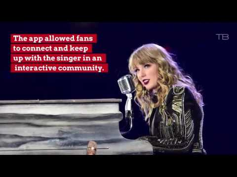 Taylor Swift Is Shutting Down Her App Mp3