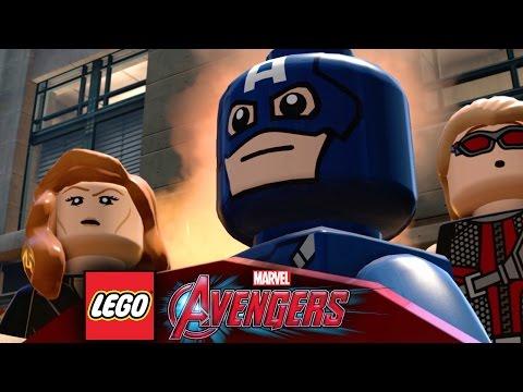 Lego Marvel's Avengers - New Game-Play Trailer w/6 Marvel Films - 동영상