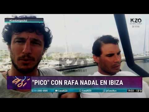 Pico Mónaco mano a mano con Rafael Nadal - Nota Completa