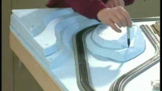 Build A Model Train Layout: Model Railroad Scenery Part 1 How To Wgh