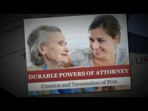 Durable Powers of Attorney Part 2
