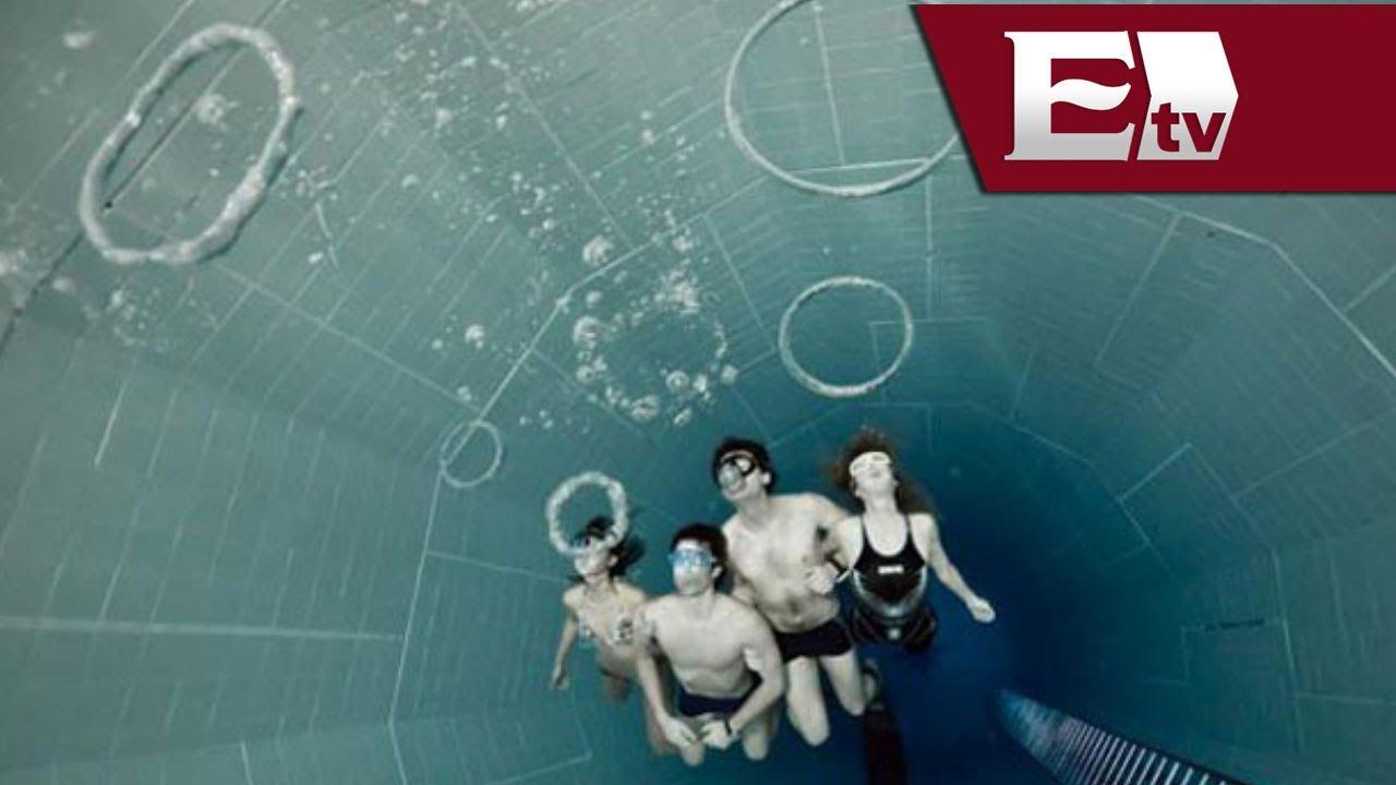 Nemo 33 la alberca m s profunda del mundo kimberly for La piscina mas temible del mundo