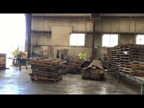 Pallet Repair and Remanufacturing at Hay Creek Companies