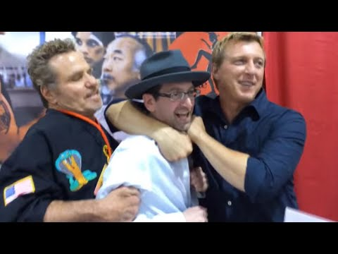 Cobra Kai Members Martin Kove And Billy Zabka