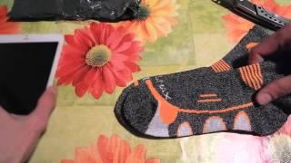 Спортивные носки Coolmax с Aliexpress. Отлично сели на 36 размер. Тёплые и стильные. Качество хорошее. Ссылка на товар:...