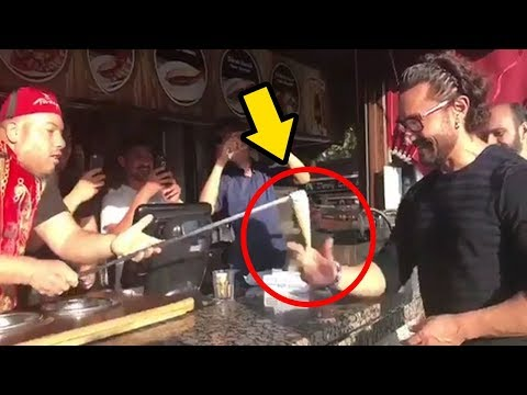 Aamir Khan FOOLED By Ice Cream Seller In Turkey FUNNY Moment