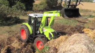 UK press launch of Claas Arion 400 tractors
