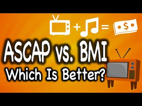 Which is Better? ASCAP or BMI?