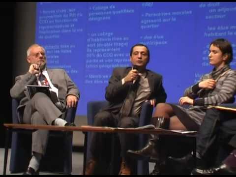 Forum democratie participative a Villeneuve d'Ascq