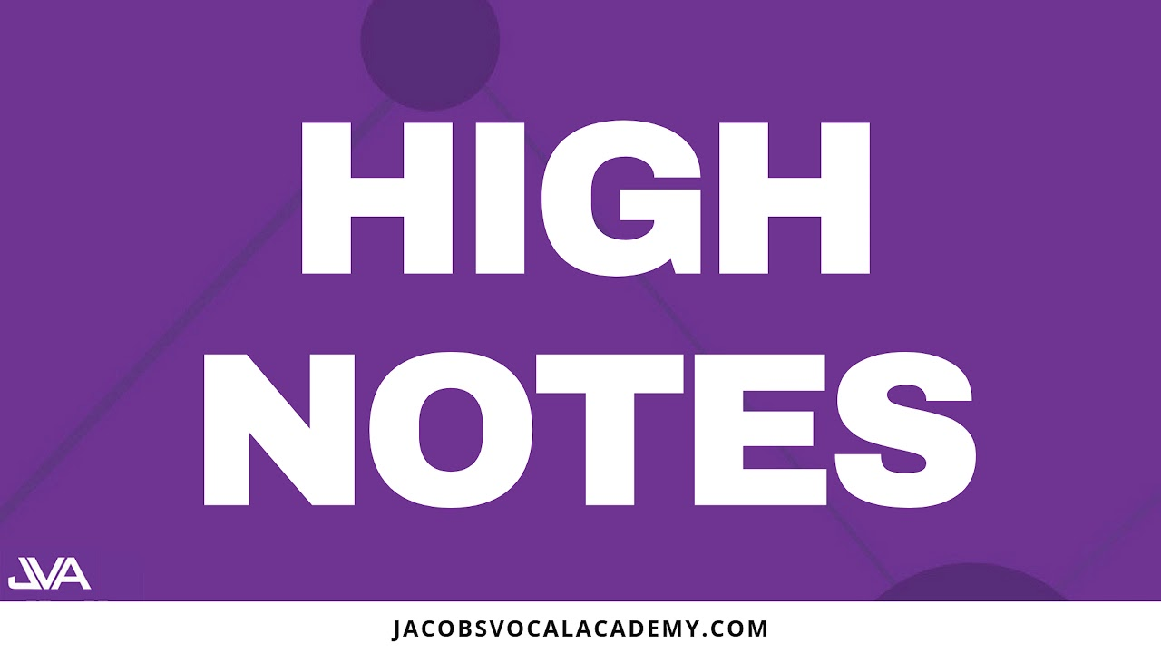 Daily Vocal Exercises For Singing High Notes