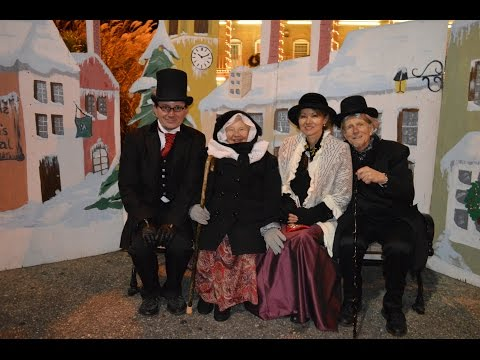 The Charles Dickens Festival in Port Jefferson, NY Christmas movie