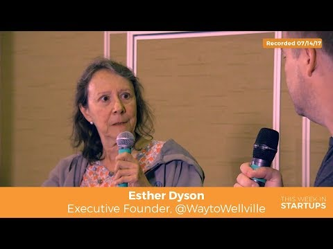 Esther Dyson​ on shifting healthcare focus from illness to wellness: invest in people over machines