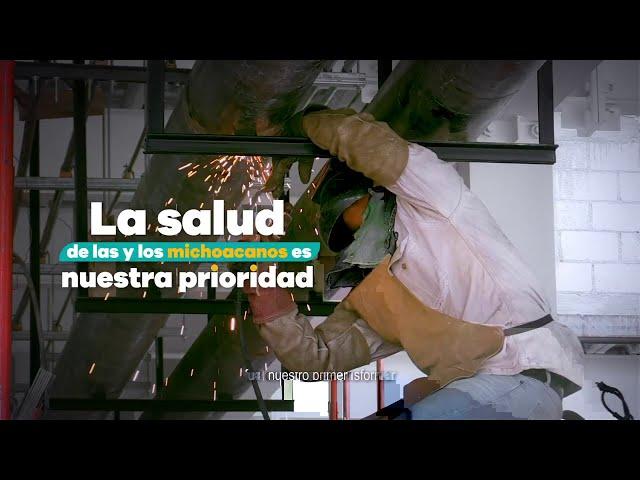 Ciudad Salud es una realidad - Gobierno de Michoacán
