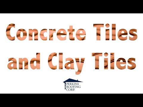 Concrete Tiles & Clay Tiles
