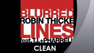 Repeat youtube video Robin Thicke- Blurred Lines (Clean)