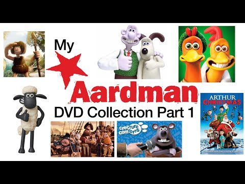 My Aardman DVD And Blu Ray Collection Part 1