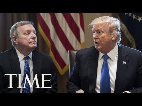 President Trump Definitely Said 'Shithole Countries', Senator Dick Durbin Confirms | TIME