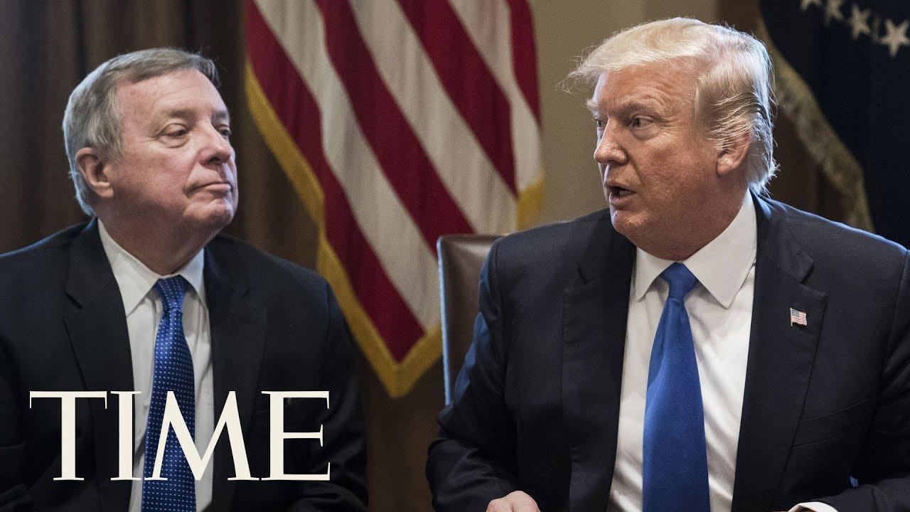 president-trump-definitely-said-shithole-countries-senator-dick-durbin-confirms-time