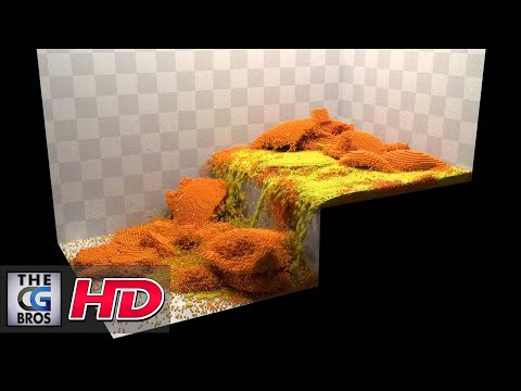 "CGI FX Animated Demo : ""Blender Molecular Add-on"" - by Jean-Francois Gallant"