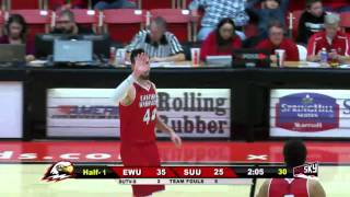Highlights - Men's Basketball at Southern Utah (Feb. 6, 2016)