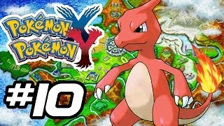 Pokemon X and Y Gameplay Walkthrough - Part 10 - LOVERS (Pokemon Gameplay 3DS HD)