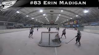 2018-2019 #83 Erin Madigan GY 2023 Carolina Lady Eagle Highlights