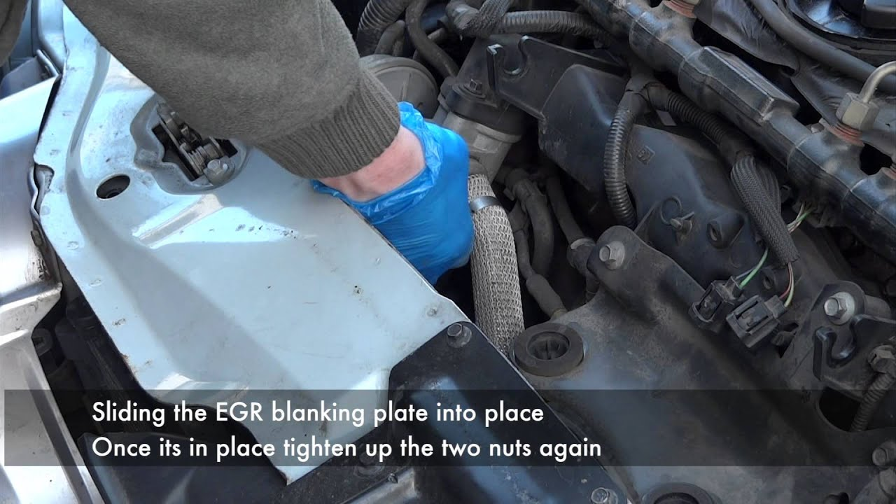 small resolution of jaguar x type intercooler hose and egr blanking plate