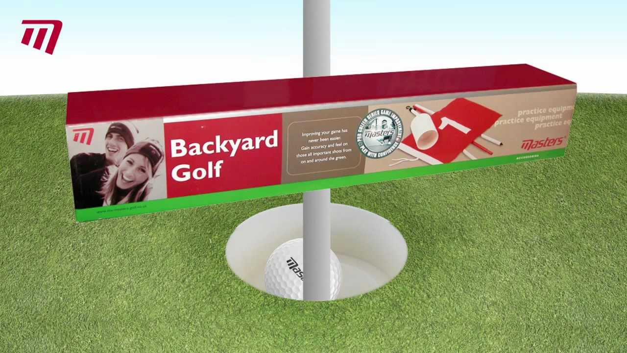 Bon Masters Golf   Backyard Golf Set (PE057)   YouTube