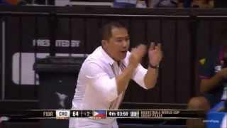 Gilas Pilipinas 2014 Fiba Basketball World Cup- (Sige lang+Saludo)