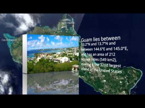 little bit about the country Guam