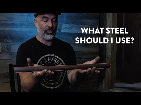 Which Steel To Use For Knife Making | Beginner Tips