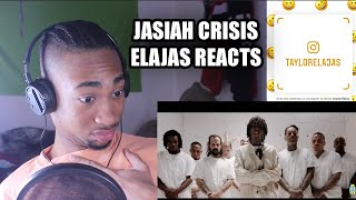 Jasiah - Crisis (Official Reaction + Dir. by @_ColeBennett_)