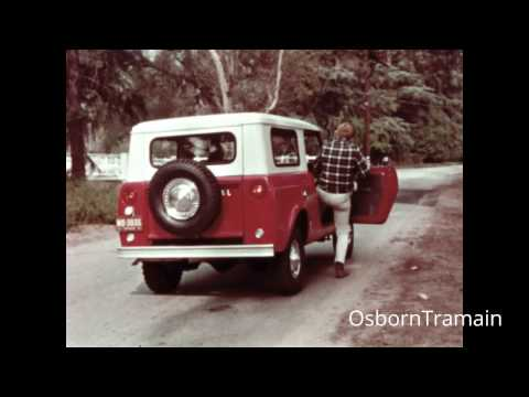 1968 International Scout TV Commercial featuring a beagle puppy cute