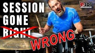 Worst Recording Session EVER | Gigging Drummer 19