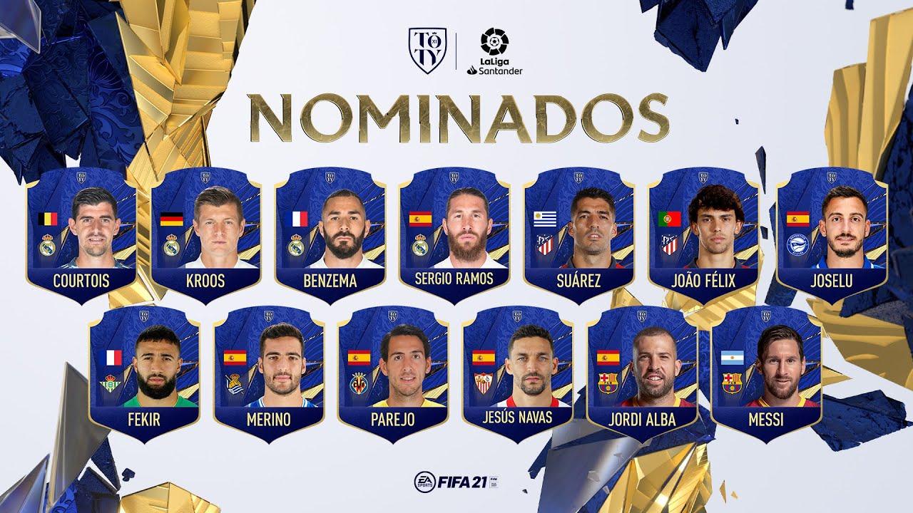 ¡Vota a Dani Parejo para el Equipo del Año de FIFA 21!