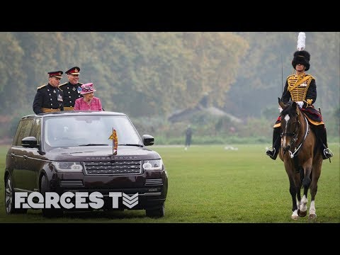 Getting Your Horse Ready For The Queen | Forces TV