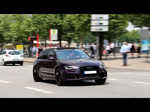 Audi RS6 Launch Controls and crazy backfire!!