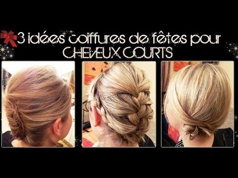 3 Idées Coiffures Pour Cheveux Courts Partie 2 L A Hairstyle Inspiration