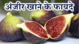 Anjeer ke fayde | Fig fruit benefits in hindi