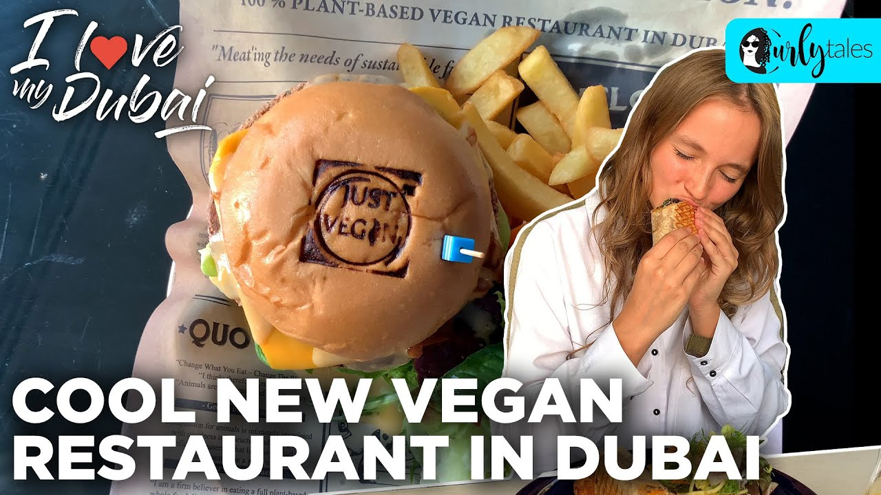Dubai's First Private Dining Vegan Restaurant 'Just Vegan' | I Love My Dubai S2 E12 | Curly Tales
