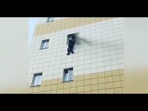 Кемерово пожар ТЦ Зимняя вишня Видео